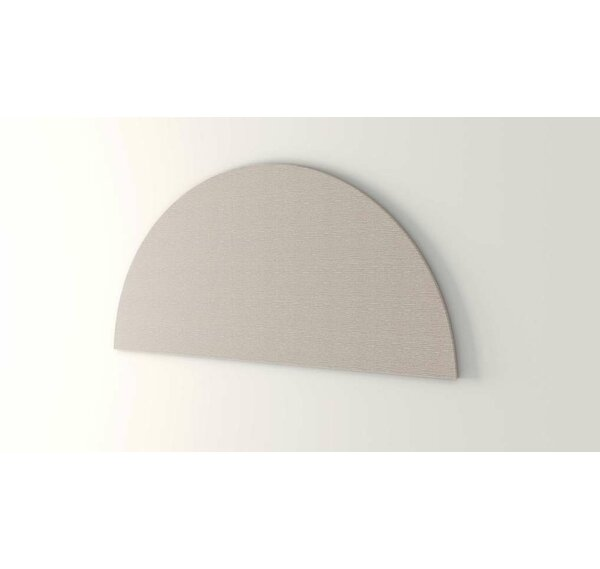 Trapezoid Wall Mounted Bulletin Board by OBEX