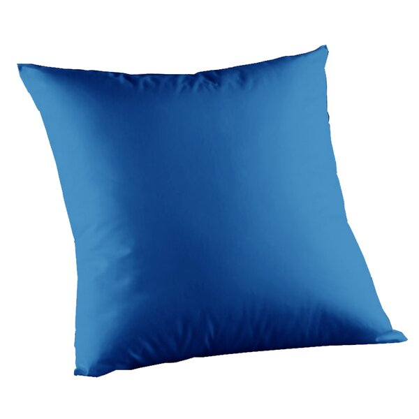 Solid Cotton Throw Pillow by Patch Magic