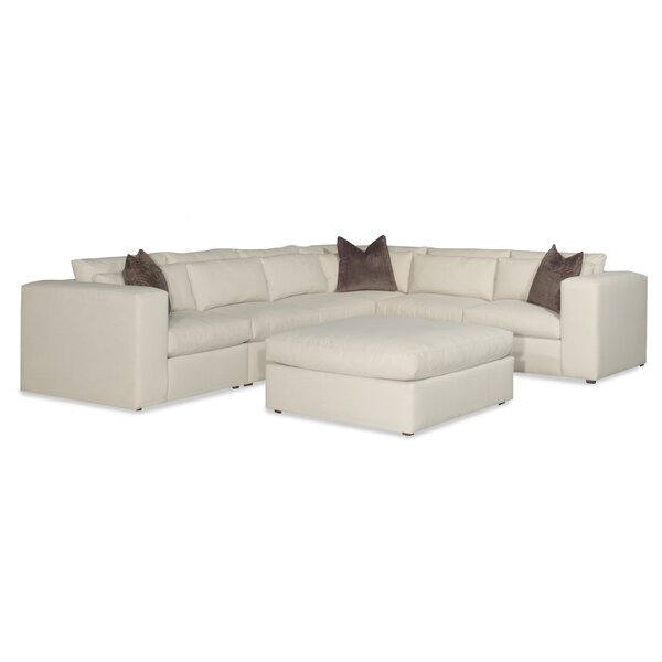 Hagans Right Hand Facing Sectional with Ottoman by Ivy Bronx