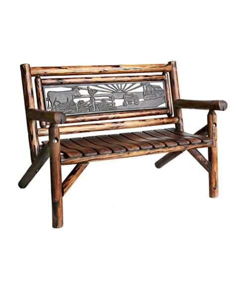 Char-Log Double Garden Bench by Leigh Country