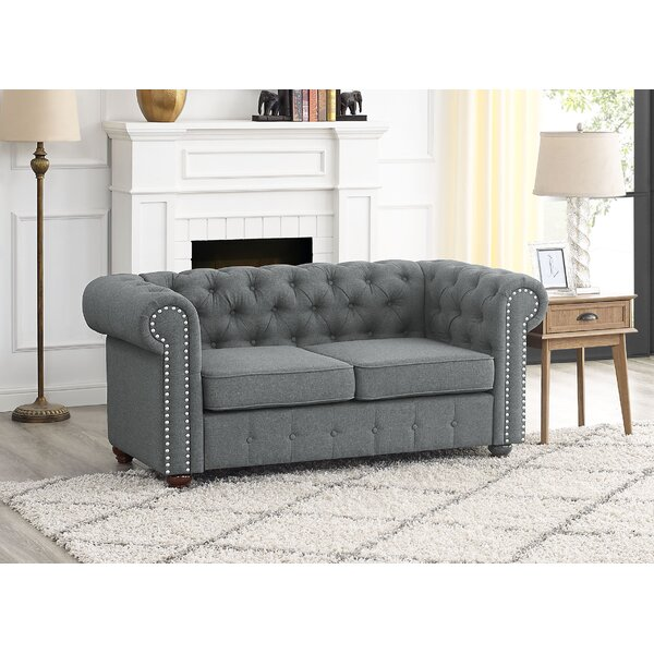 Mikesell Loveseat by Canora Grey Canora Grey