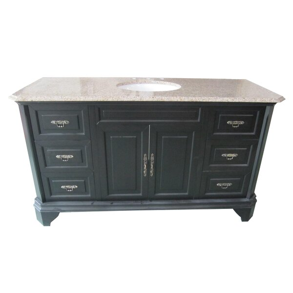 Traditional 60 Single Bathroom Vanity Set by Yosemite Home Decor