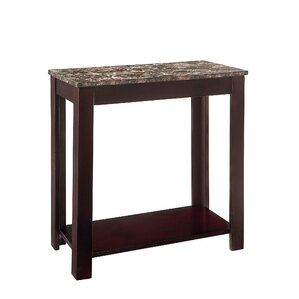 Faux Marble End Table by Standard Furniture