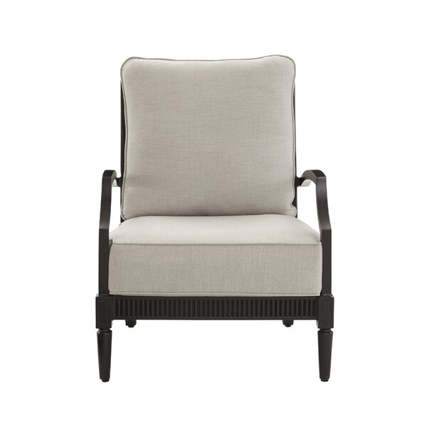 Euston Patio Chair with Cushion (Set of 2) by Canora Grey