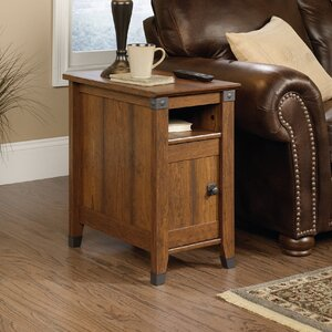 Newdale End Table With Storage by Loon Peak