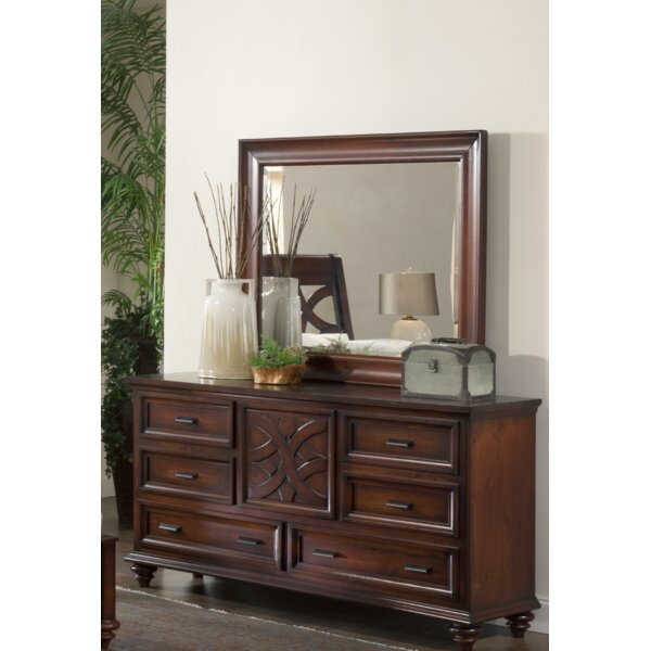 Cayman 6 Drawer Combo Dresser by Wildon Home®