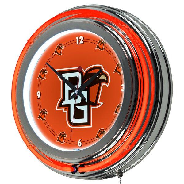 NCAA 14.5 Neon Wall Clock by Trademark Global