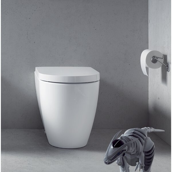 Me by Starck 1.28 GPF (Water Efficient) Elongated Wall Mounted Toilet (Seat Not Included) by Duravit