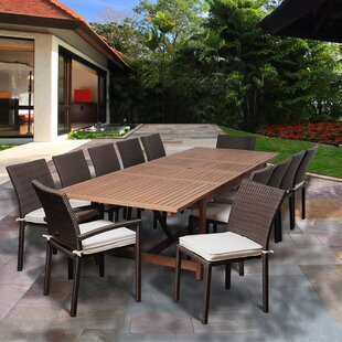 Superb Ashford 13 Piece Dining Set With Cushions