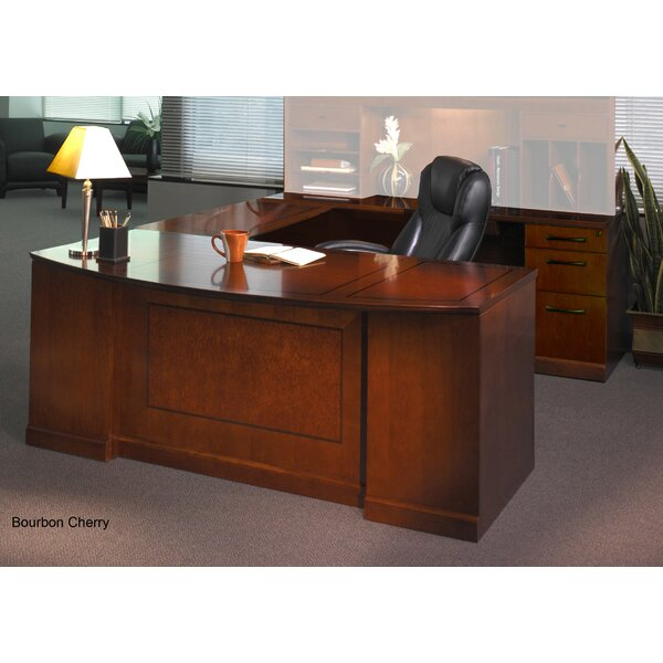 Sorrento Series U-Shape Executive Desk by Mayline Group