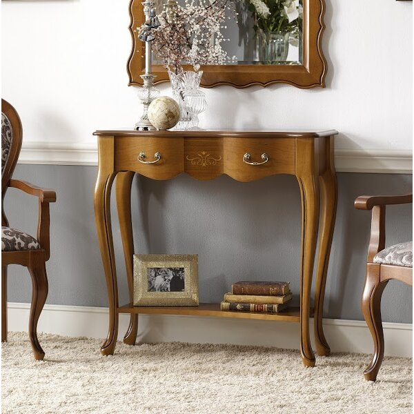 Royce Console Table With Shelf By Canora Grey