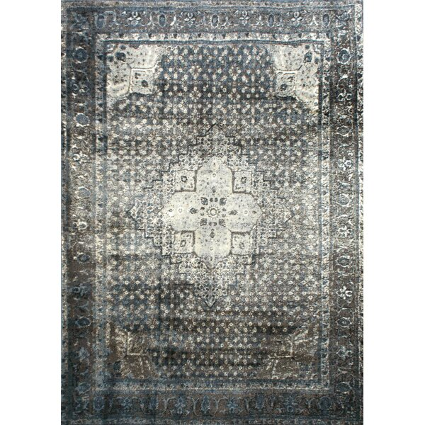 Pascoe Blue/Grey & Silver Area Rug by Mistana