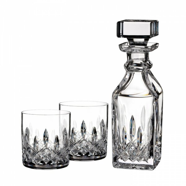 Lismore Connoisseur 3 Piece Beverage Serving Set by Waterford