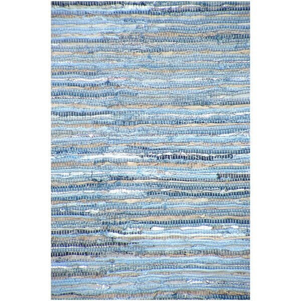 Hand Woven Blue Area Rug by Acura Rugs
