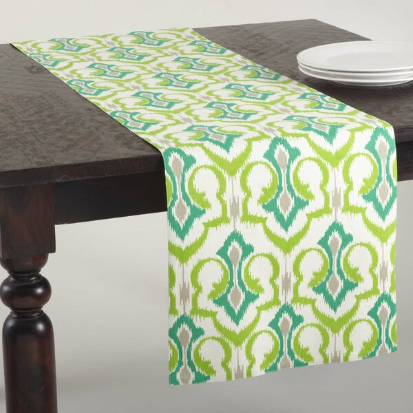 Mauritius Printed Table Runner by Saro