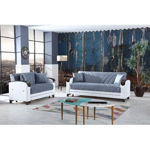 Featherstone 2 Piece Living Room Set by Ivy Bronx