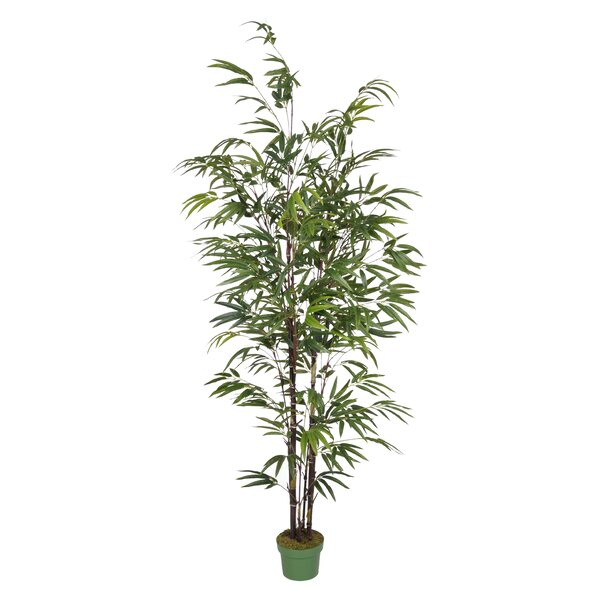 Artificial Bamboo Tree in Pot by Beachcrest Home