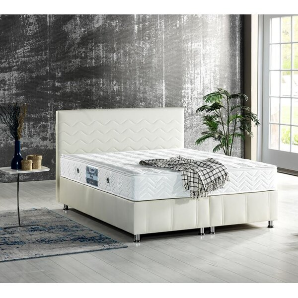 Linzy Storage Sleigh Bed by Ebern Designs