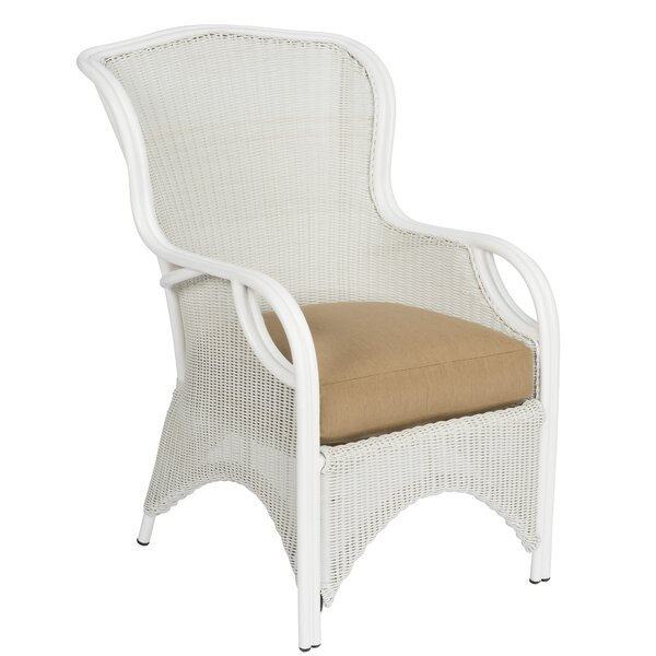 Heirloom Patio Dining Chair with Cushion by Woodard