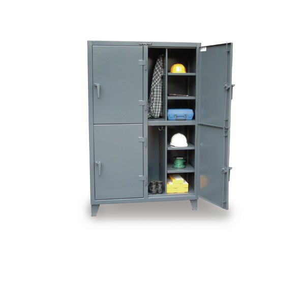 2 Tier 2 Wide Employee Lockers by Strong Hold Products