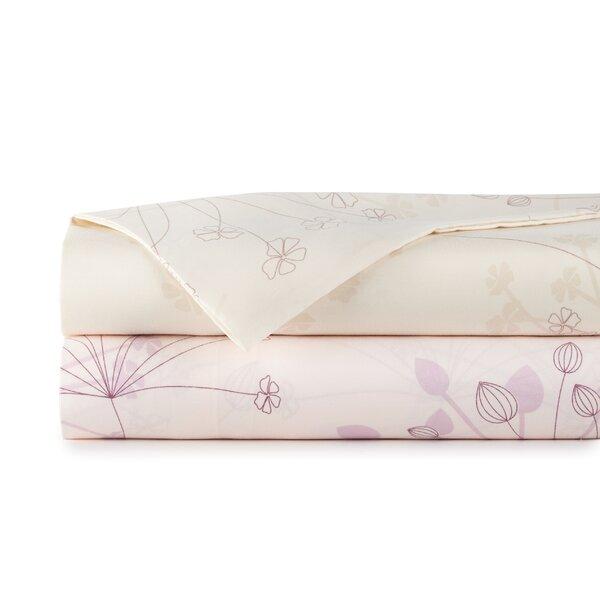 Vernita Soft Floral Sheet Set by Winston Porter