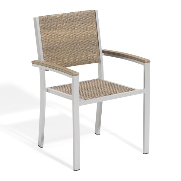 Caspian Teak Patio Dining Chair (Set of 4) by Sol 72 Outdoor