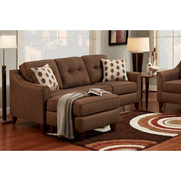 Howland Sofa & Chaise Sectional by Winston Porter