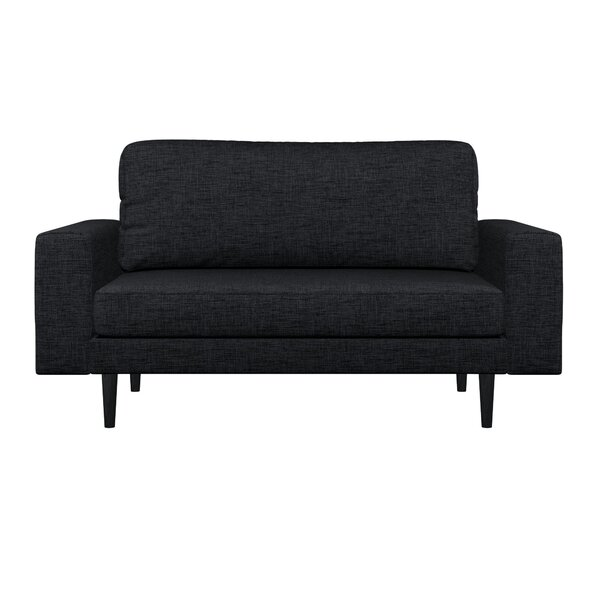 Top Design Binns Cross Weave Loveseat by Corrigan Studio by Corrigan Studio