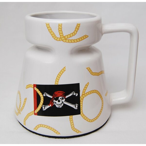 Jolly Roger Non-skid 16 oz. Travel Mug by Galleyware Company