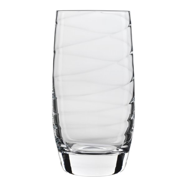 Romantica 19 oz. Beverage Water Glass (Set of 4) by Luigi Bormioli