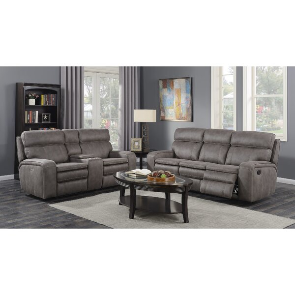 Eoin Reclining 2 Piece Living Room Set by Red Barrel Studio