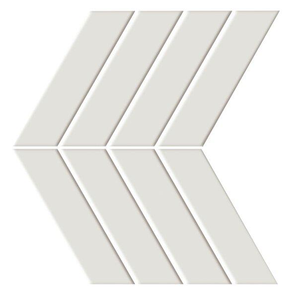 Shape 4.5 x 6.5 Porcelain Mosaic Tile in Beige by Emser Tile