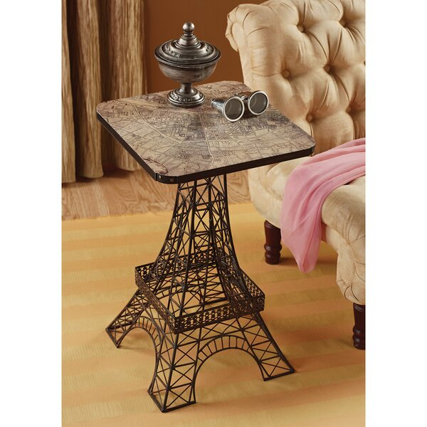 Tour Eiffel Sculptural Side Table by Design Toscano