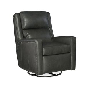 Norman Leather Power Wall Hugger Recliner with Articulating Headrest Bradington-Young