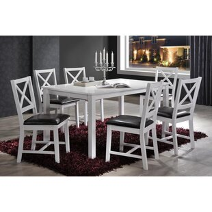 Beau Bonny Cross Back 7 Piece Dining Set