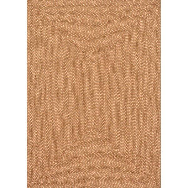 Daniell Hand-Woven Orange Indoor/Outdoor Area Rug by Wrought Studio