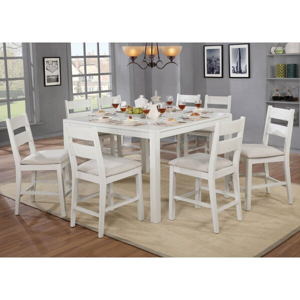 Carrera Gwen 9 Piece Dining Set By August Grove Reviews