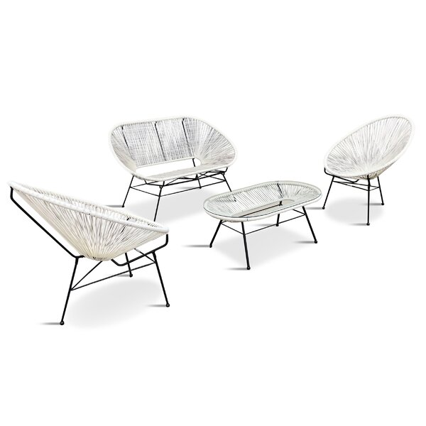 Ehrlich 4 Piece Sofa Seating Group by Ivy Bronx