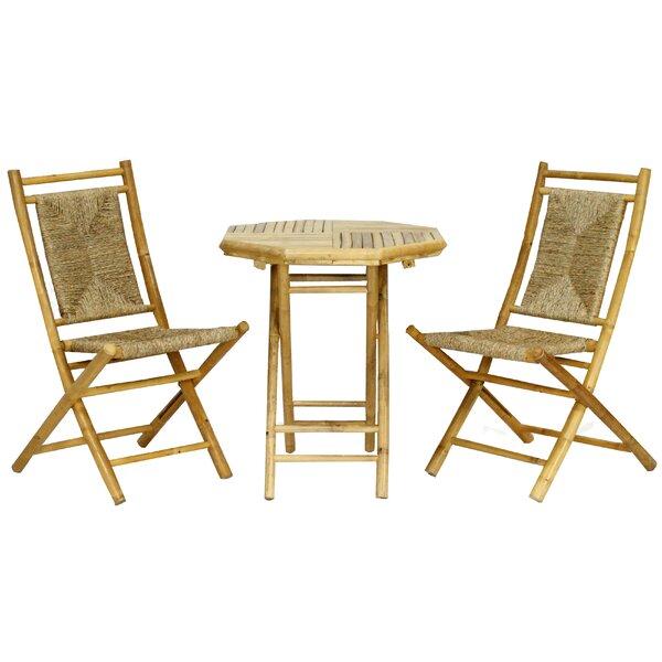 Brandenburg 3 Piece Seating Group by Highland Dunes