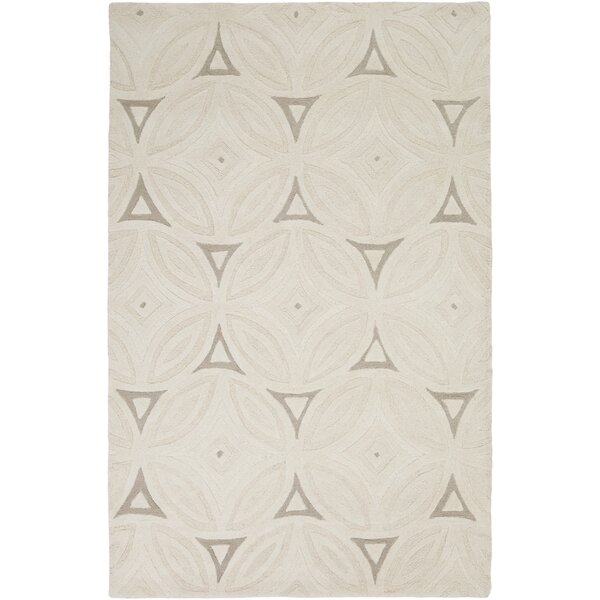Perspective Ivory Geometric Area Rug by Surya