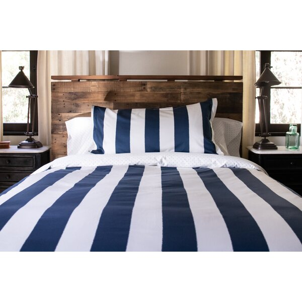 Lenore Stripe Reversible Duvet Cover Set