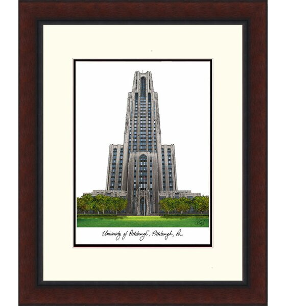 Legacy Alumnus Lithograph Picture Frame by Campus Images