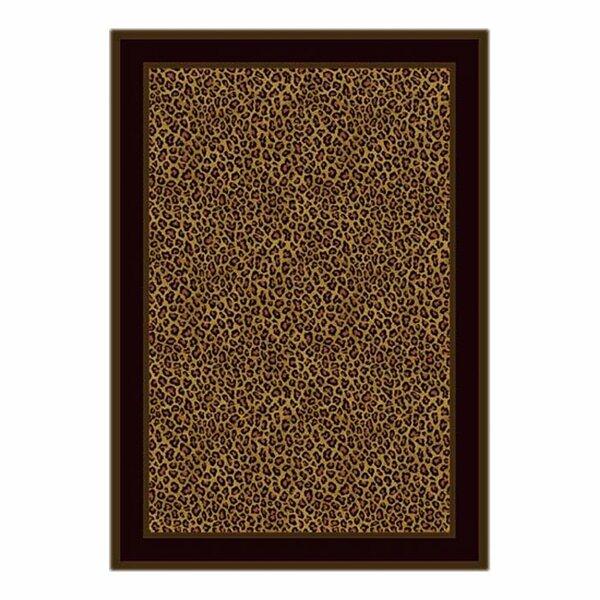 Victorville Leopard Print Zimbala Area Rug by Bloomsbury Market