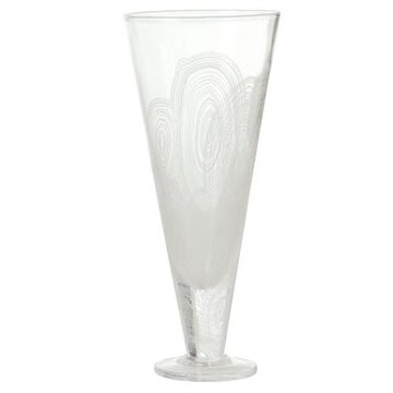 Malachite Champagne Flute by DwellStudio