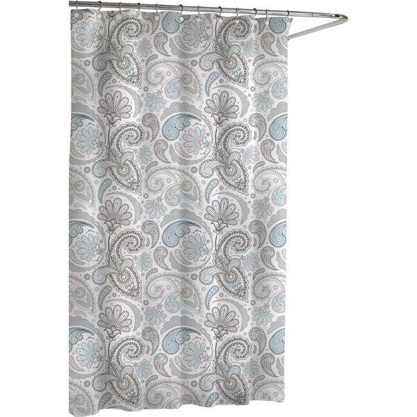 Paisley Cotton Shower Curtain by Kassatex Fine Linens