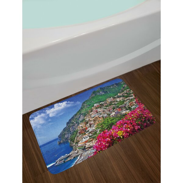 Scenic Italy Bath Rug by East Urban Home