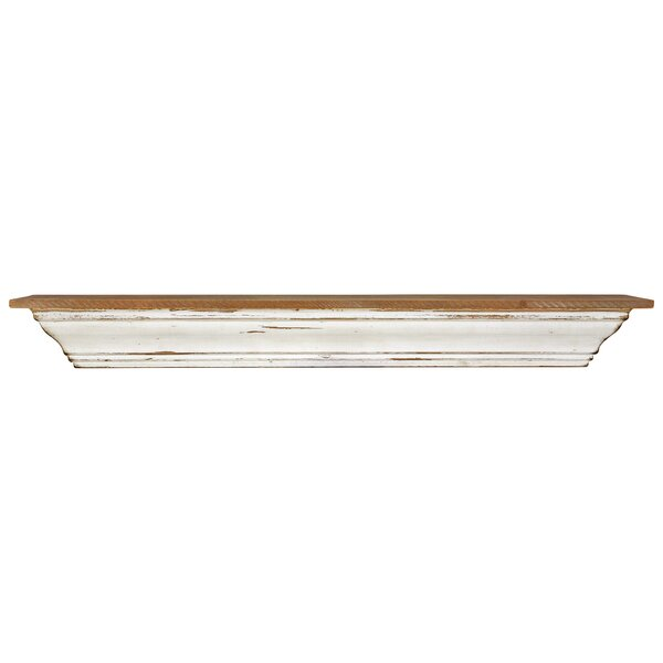 Lasalle Wood Wall Shelf by Breakwater Bay