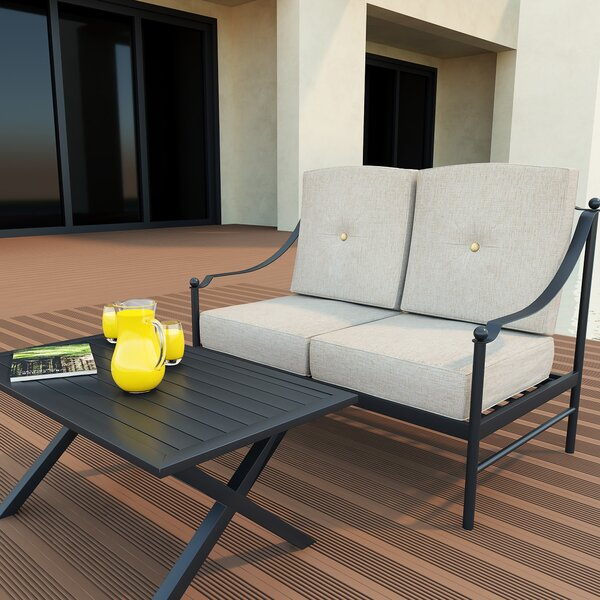 Kajetan 2 Piece Seating Group with Cushions by Winston Porter