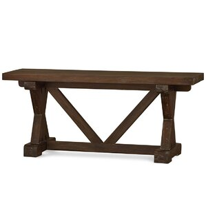 Roosevelt Riverwalk Counter Height Wood Bench