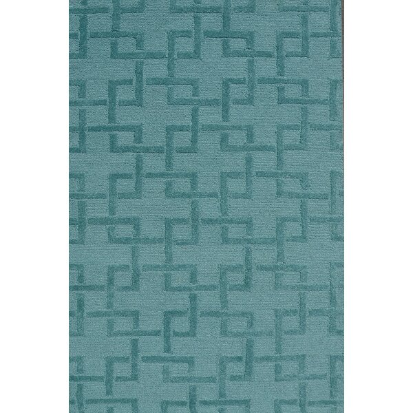 Handmade Green Area Rug by Park Avenue Rugs